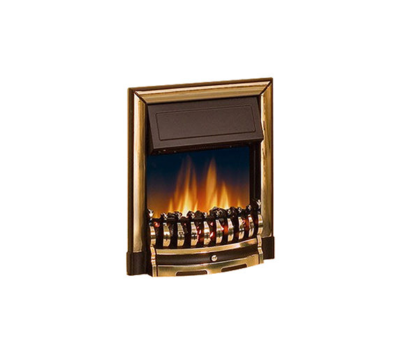 Dimplex Ashington Manual Control Inset Electric Fire Brass | ASN20