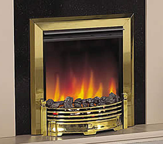 Dimplex Loxely Remote Control Inset Electric Fire Brass | LXY15