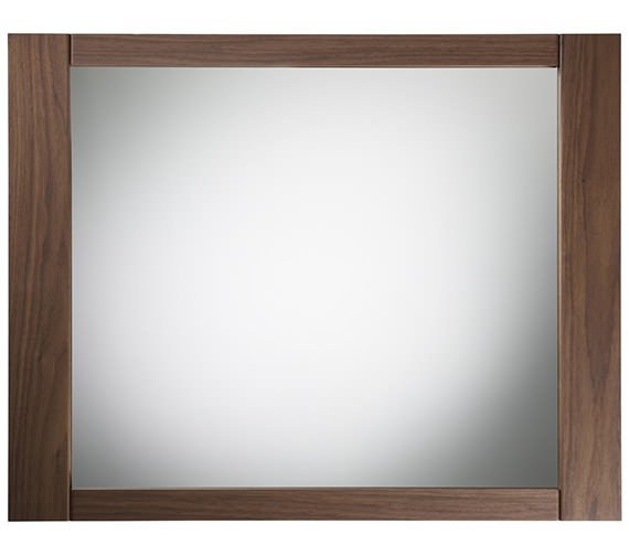 Roper Rhodes Karma Walnut Framed Mirror 600mm - KRM7MAW