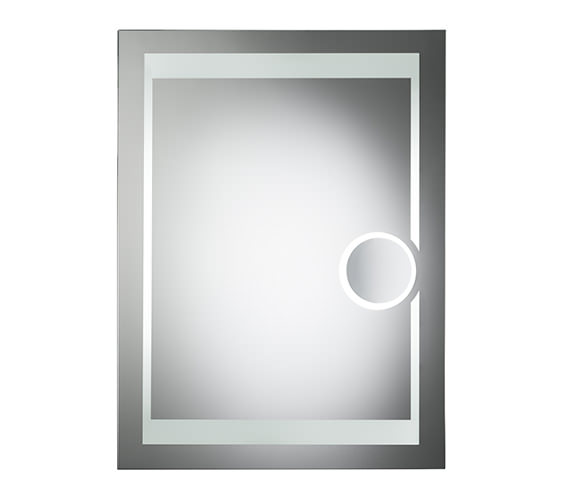 Roper Rhodes Clarity Corona Backlit Mirror With Shaver Mirror - MLB300