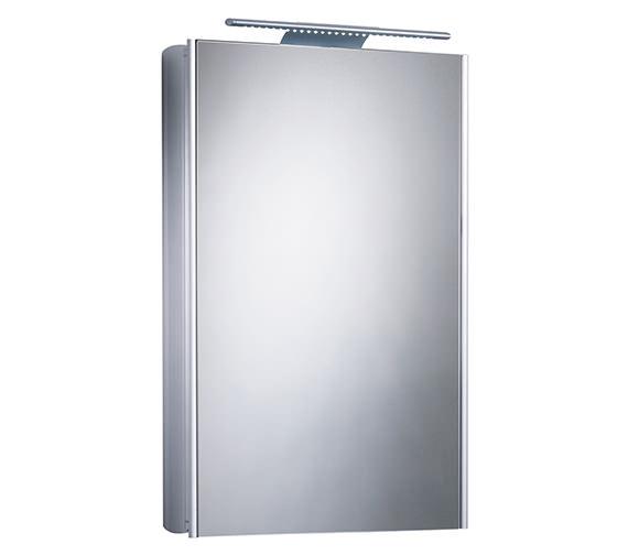 Ascension Equinox 1 Mirror Glass Door Cabinet With Electrics - AS515AL