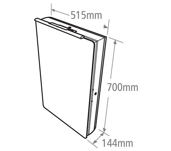 Technical drawing QS-V19491 / AS515AL