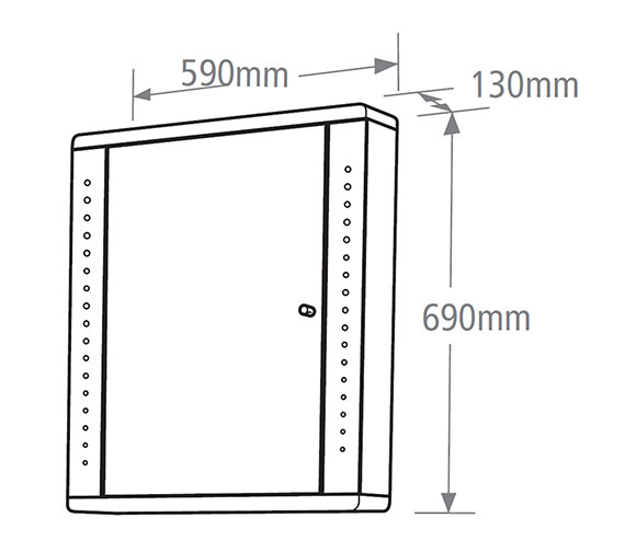 Technical drawing QS-V19495 / SN590AW