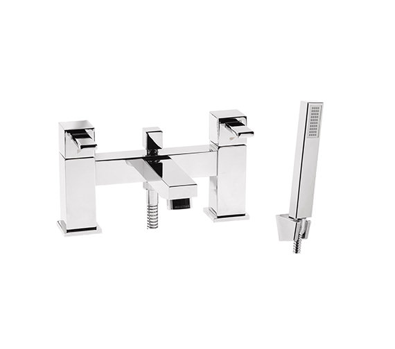 Roper Rhodes Factor Square Deck Mounted Bath Shower Mixer Tap - T134202