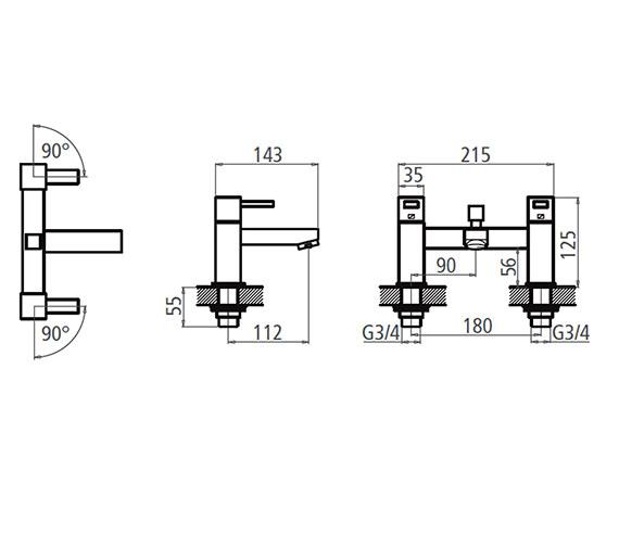 Technical drawing QS-V19519 / T134202