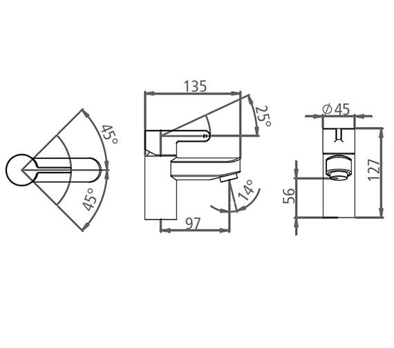 Technical drawing QS-V19552 / T996002