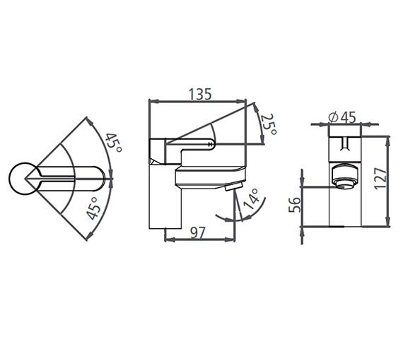 Technical drawing QS-V19553 / T996202