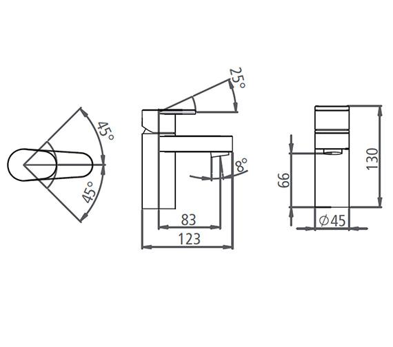 Technical drawing QS-V19557 / T776002