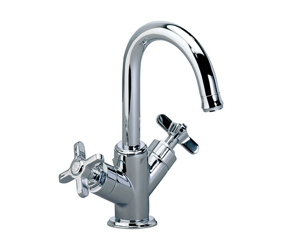 Roper Rhodes Wessex Basin Mixer Tap With Click Waste Chrome - T661002