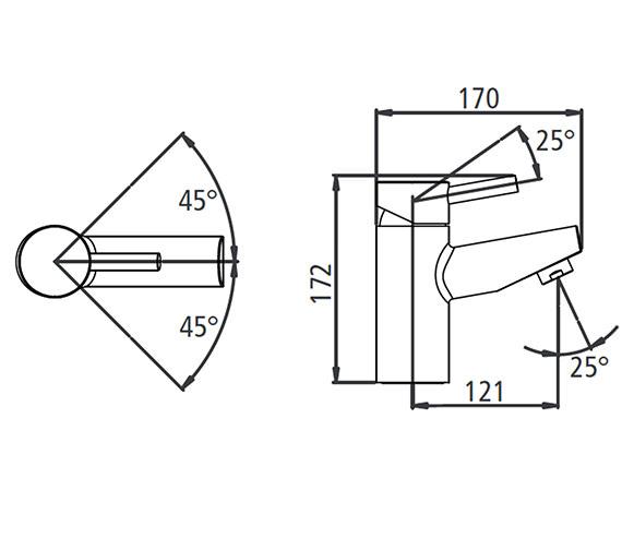 Technical drawing QS-V19577 / T229202