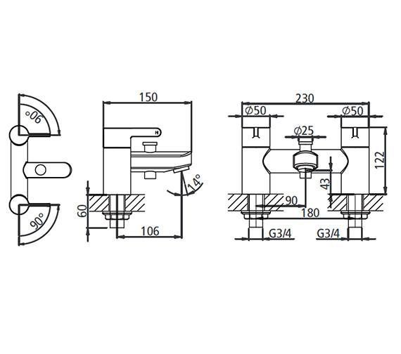 Technical drawing QS-V19578 / T224202
