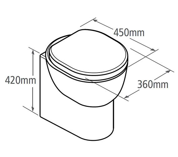 Technical drawing QS-V19590 / ZBWPAN45