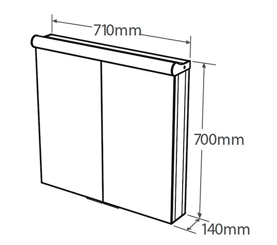 Technical drawing QS-V19597 / AS232