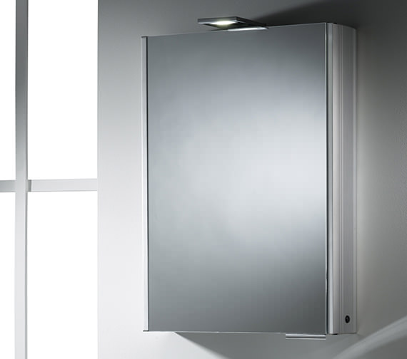 Additional image of Roper Rhodes Ascension Fever Single Mirror Glass Door Cabinet - AS251