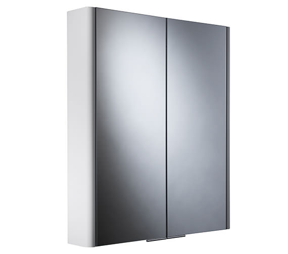 Roper Rhodes Definition Entity Double Mirror Glass Door Cabinet DN60W
