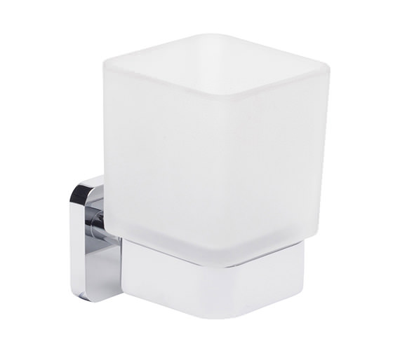 Roper Rhodes Ignite Frosted Glass Tumbler And Holder - 8516.02