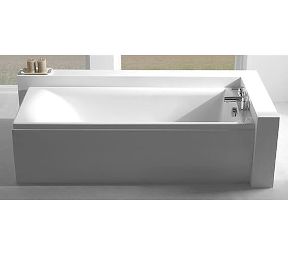 Additional image of Carron Axis Single Ended 5mm Acrylic Bath 1700 x 700mm