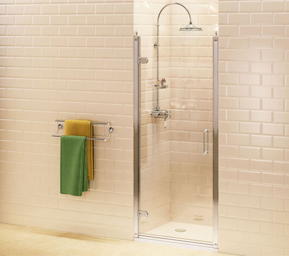 Burlington Hinged Shower Door - BU1