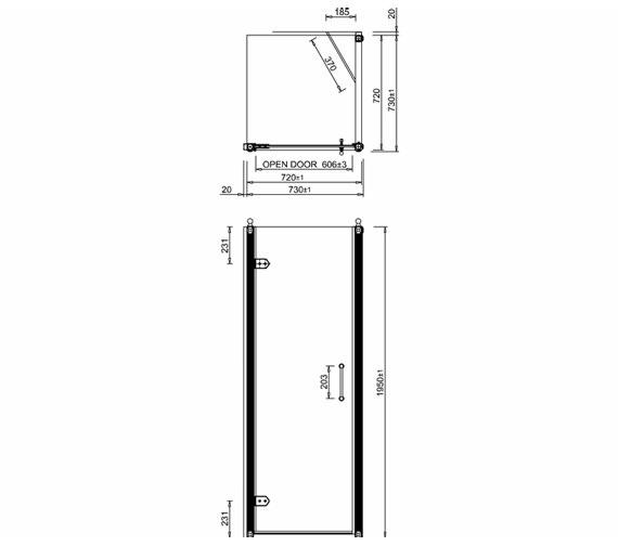 Technical drawing QS-V19881 / C19+C12