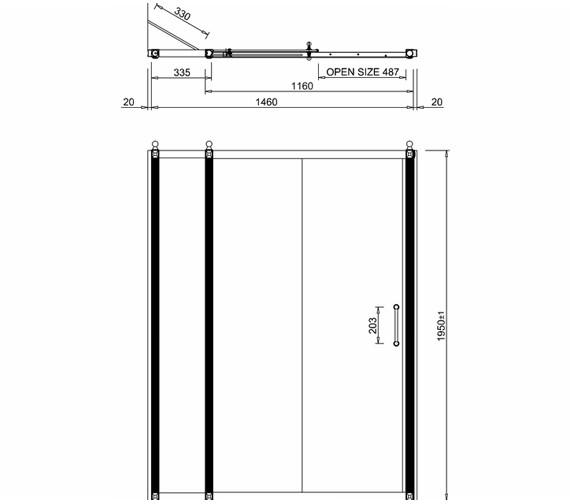 Technical drawing QS-V19917 / BU71