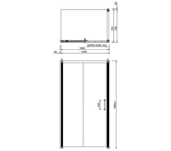 Technical drawing QS-V19921 / C6S