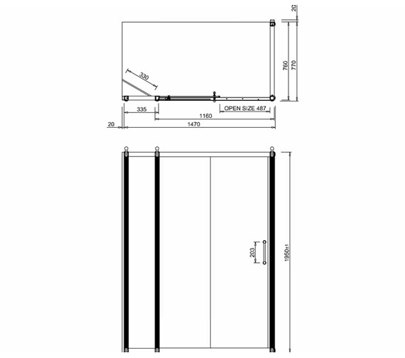 Technical drawing QS-V19932 / BU86