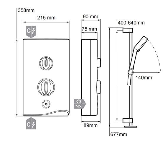 Technical drawing QS-V2013 / 1.1746.006