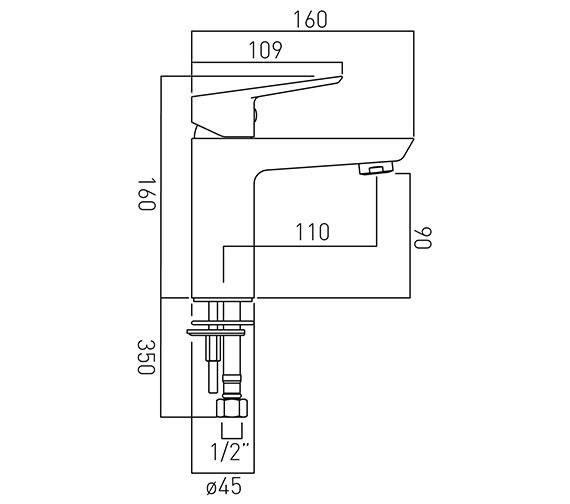 Technical drawing QS-V20567 / PHO-100/SB-C/P