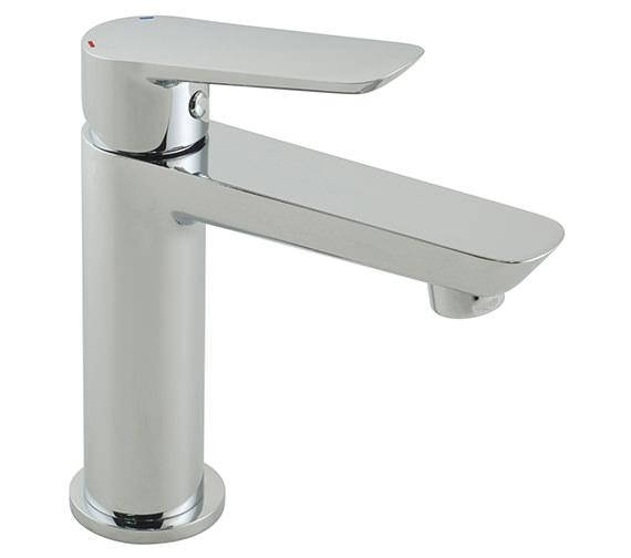 Vado Photon Mini Mono Chrome Basin Mixer Tap - Single Lever