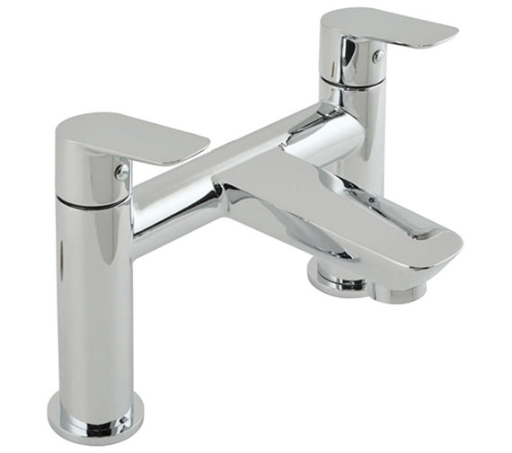 Vado Photon Deck Mounted 2 Hole Bath Filler Tap - PHO-137