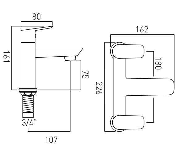 Technical drawing QS-V20576 / PHO-137-C/P
