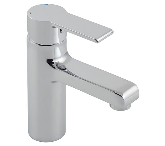 Vado Ion Mono Basin Mixer Tap Without Clic-Clac Waste - ION-100-SB