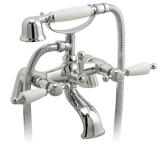 Vado Kensington Exposed Pillar Mounted Bath Shower Mixer Tap