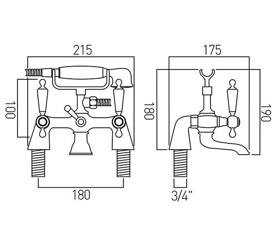 Technical drawing QS-V20608 / KEN-131/CD-C/P