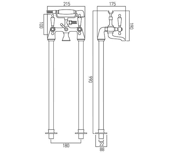 Technical drawing QS-V12052 / KEN-233/CD+K-C/P