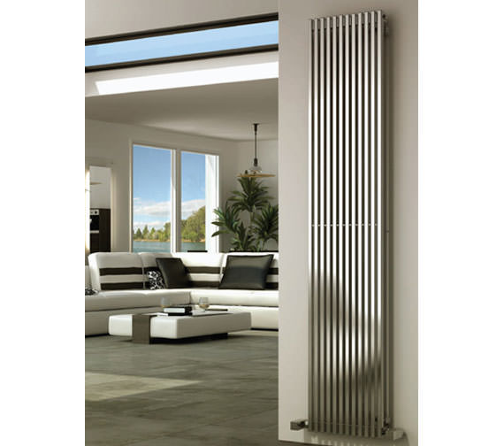 Alternate image of Reina Odin 470 x 1800mm Designer Radiator - RNS-ODN4718