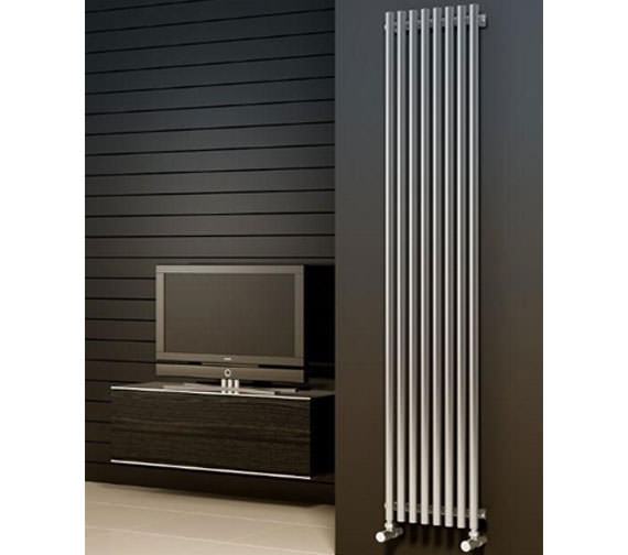 Alternate image of Reina Orthia 390x1800mm Stainless Steel Designer Radiator RNS-ORT3918