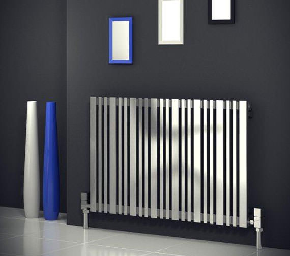 Alternate image of Reina Versa 540 x 600mm Designer Radiator Satin - RNS-VR6540