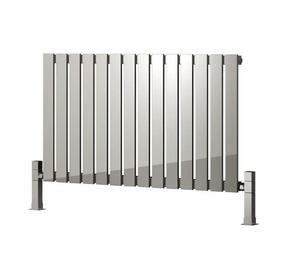 Reina Calix 435 x 600mm Designer Radiator Polished - RNS-CLX6435