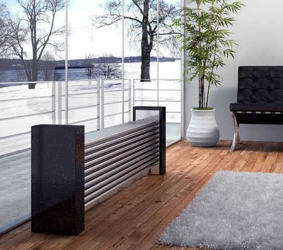 Alternate image of Reina Marinox 1200 x 500mm Designer Radiator 50 Tube - RNS-MRX12-50