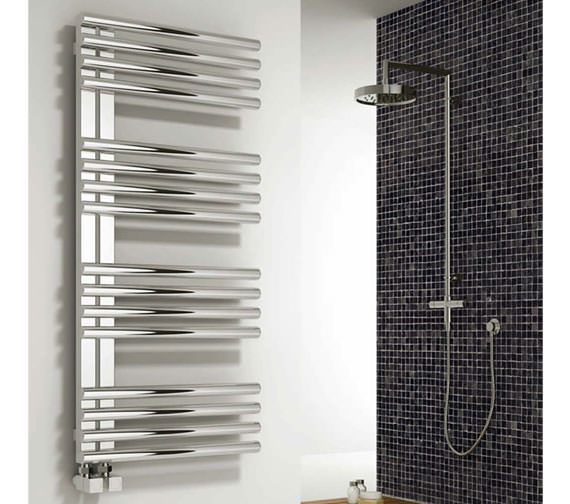 Alternate image of Reina Adora Designer Radiator 500 x 800mm Polished - RNS-ADR5080