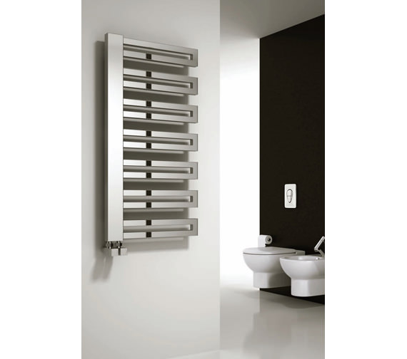 Alternate image of Reina Ginosa Designer Radiator 500 x 1000mm Chrome - RND-GNS510