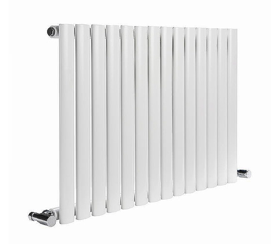 Reina Neva Single Panel Designer Radiator 413x550mm White - RND-HNV7