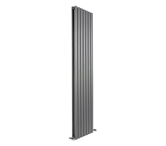 Reina Neva Double Panel Vertical Radiator 413 x 1500mm Anthracite