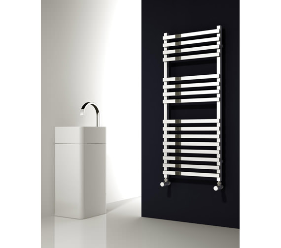 Alternate image of Reina Carina Designer Radiator 500 x 1200mm Chrome - RND-CRN5120