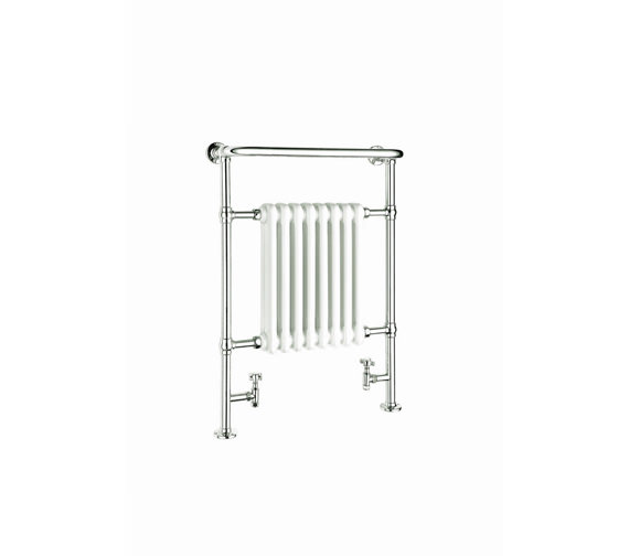 Reina Victoria Traditional Radiator 675 x 960mm Chrome - RND-VIC01