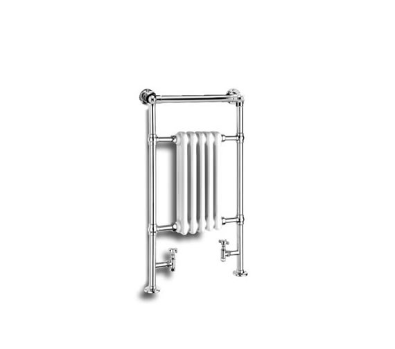 Reina Oxford Traditional Chrome Radiator 500 x 960mm - RND-OXF01