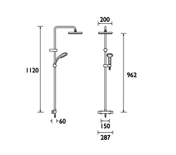 Technical drawing QS-V20869 / CR SHXDIVFF C
