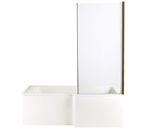 Heritage Zaar Square Right Hand Shower Bath 1700 x 850-700mm