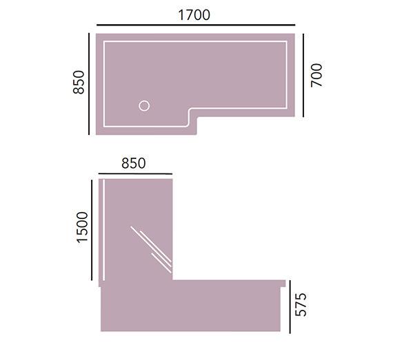 Technical drawing QS-V20933 / BVEWSR00SS
